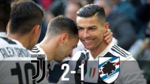 Juventus vs Sampdoria 2 - 1 | Serie A All Goals & Highlights | 29-12-2018